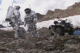 «Марсианская» база появилась в Альпах