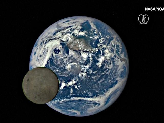 Тёмную сторону Луны сняли из космоса
