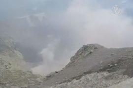 Вулкан Сабанкая в Перу активизируется