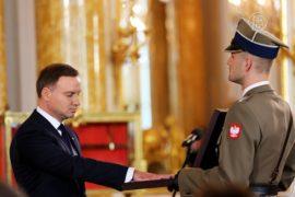 Президент Польши принёс присягу