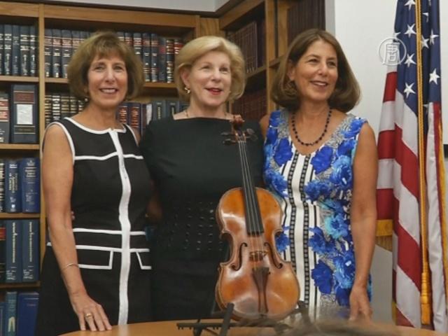 Украденную скрипку Страдивари вернули владельцам