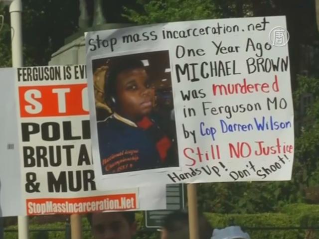 США: год со дня гибели афроамериканца Майкла Брауна