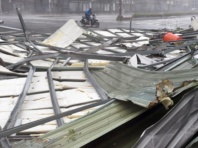 Тайфун стал смертоносным для Тайваня и Китая