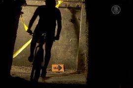 Будапешт: велогонка в старинной каменоломне
