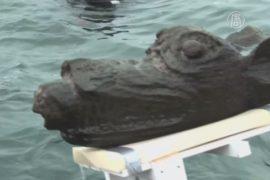 Фигуру с корабля XV века подняли со дна моря