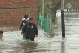 Аргентинцы ждут помощи после наводнения