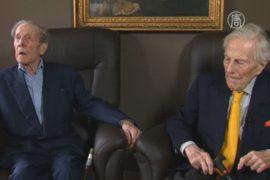 Самые пожилые братья-близнецы живут в Бельгии
