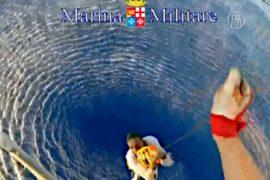 В Средиземном море продолжают спасать мигрантов