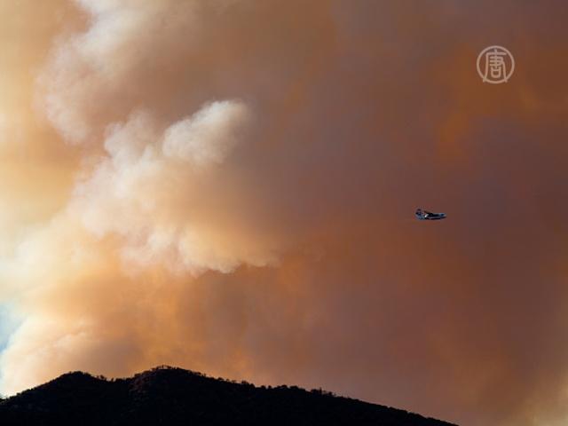 На западе США бушуют лесные пожары