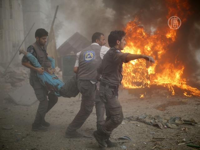 ООН: мирное население в Сирии нужно защитить