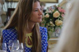В Петербурге девушки учатся манерам высшего света