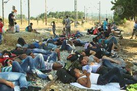 Македония ввела ЧП на границе из-за беженцев