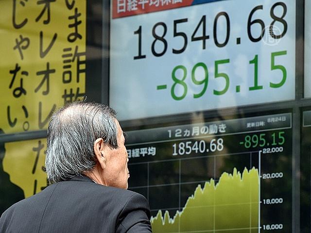 На фондовых рынках Азии снова обвал