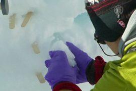 Слои льда расскажут о погоде прошлых веков