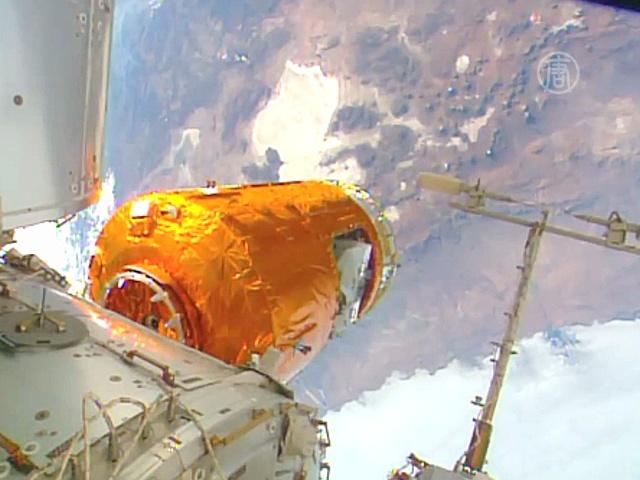 Японский корабль «Конотори» добрался до МКС