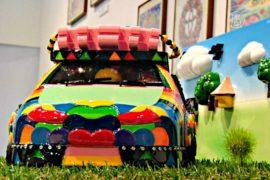Дети пофантазировали об автомобилях будущего