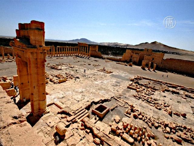 ИГИЛ разрушило древний храм в Пальмире