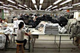 Фабрики КНР стали производить меньше товаров