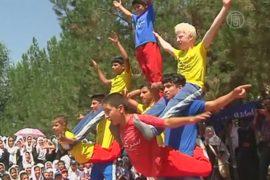 Передвижной цирк помогает афганцам забыть о войне