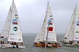 Яхтсмены-непрофессионалы отправились вокруг света