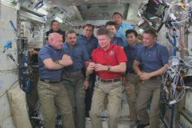 На орбитальной станции сменился командир