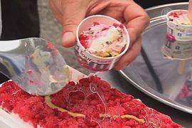Конкурс на самое вкусное мороженое прошёл в Токио