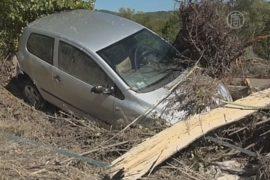 На север Италии обрушились дожди и наводнения