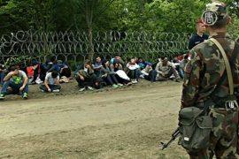 Венгрия: арестованы сирийцы, пересёкшие границу