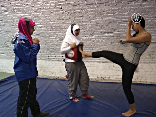 Спортивный хиджаб создали для мусульманок