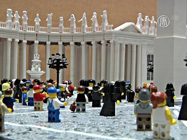 Американский пастор построил Ватикан из LEGO