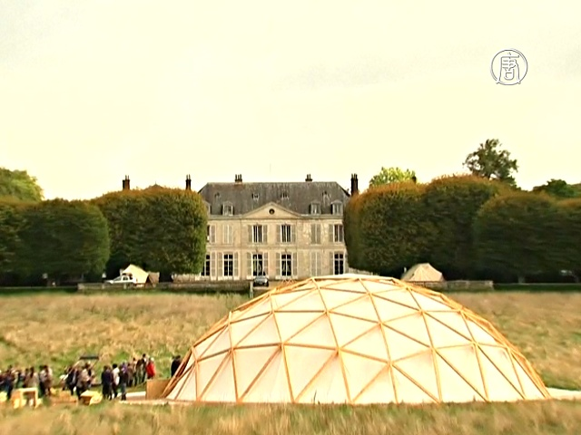 Эко-изобретения представили в замке под Парижем