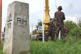 Венгрия строит забор на границе с Хорватией