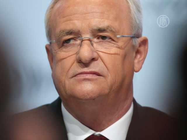 Глава Volkswagen подал в отставку