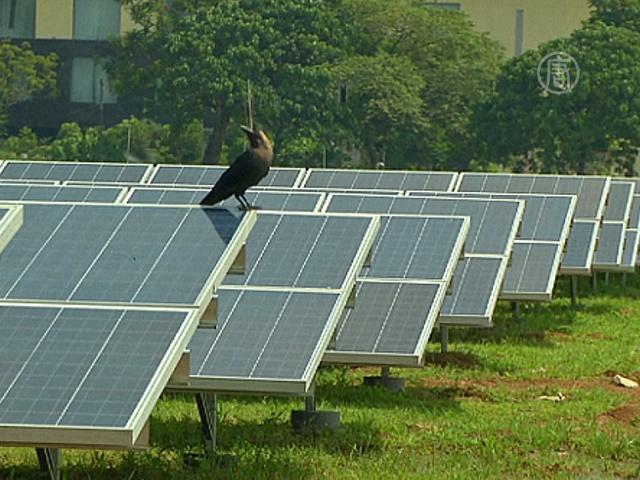 Индийский аэропорт перешёл на солнечную энергию