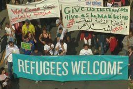 Бельгия: беженцев поддержали демонстрацией