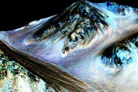 Учёные НАСА обнаружили на Марсе жидкую воду