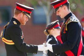 Принц Гарри проинспектировал военную школу