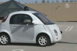 Google показал прототип своего беспилотного авто