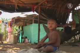 Кочевое племя в Колумбии утрачивает самобытность