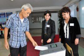 Кыргызстан: лидирует пропрезидентская партия