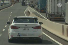 Беспилотник Lexus GS проехал 8 км по шоссе