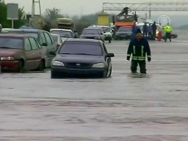 Наводнения обрушились на восток Румынии