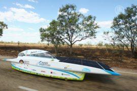 Австралия: гонка на «солнечных» автомобилях