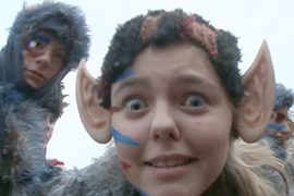 Фестиваль троллей прошёл в Дании