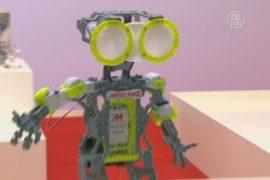 На выставке в Париже обосновались роботы и феи