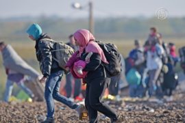 Беженцы ищут новые пути к Австрии и Германии