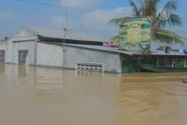 Город на Филиппинах — под водой после тайфуна