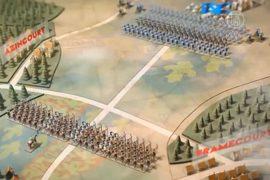 Парижскую выставку посвятили 600-летию битвы