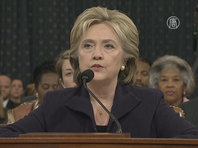 Клинтон: «Я взяла ответственность за Бенгази»