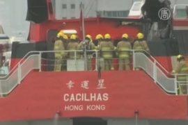 Авария парома в Гонконге: 124 пострадавших